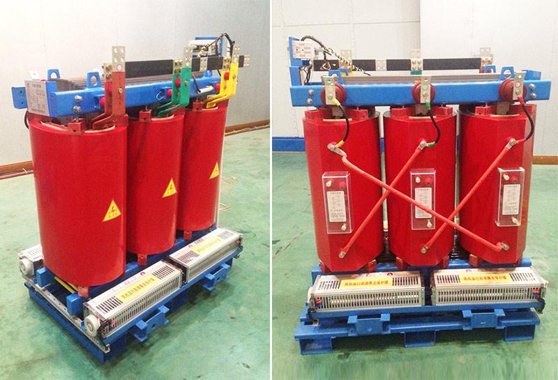 森源电气公司干式电力变压器两个产品在西安高压电器