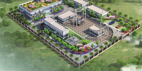 海南神华东方现代设施农业光伏发电110kV升压站设备总包项目