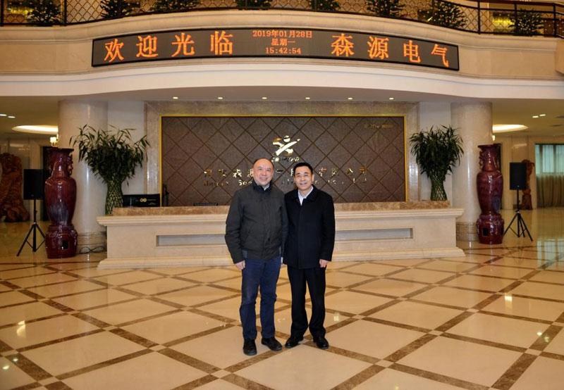 对接欧洲前沿科技||德国中国研发创新联盟主席雷宪章考察公司